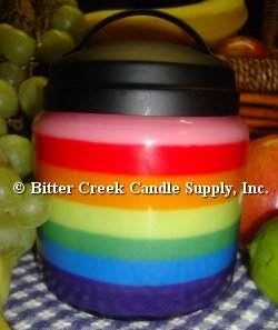 Glass Candle Jars and Lids