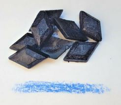 Blue Diamond Dye Chips