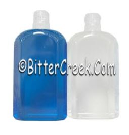 8 oz. Clear Facetted Bottles
