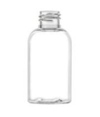 8 oz. Clear Boston Round Bottles