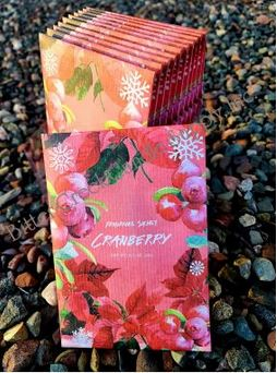 Cranberry Fragrance Sachet *NEW for holiday 2020!