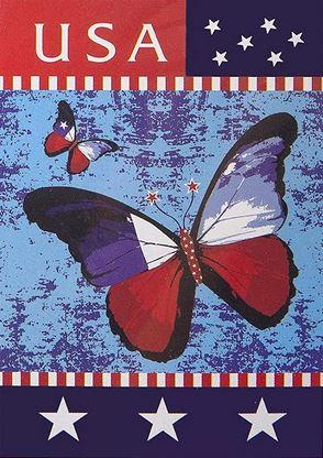 Patriotic House Flag *NEW