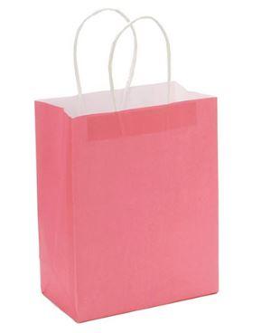 "Strawberry Paper Handle Bag (4.25x8x10.25"") *NEW"