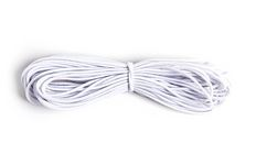 White Elastic Cord (5 yds) *NEW for 2019!