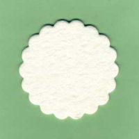 Scalloped Circle Air Freshener Blank *NEW for 2019!