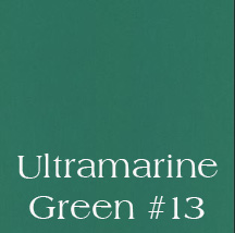 Ultramarine Green #13 Dye Block