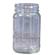 16 oz. Square Mason Jar (12) Per Case *No Lid* ***temporary LIMIT of 144 per customer, per day!***