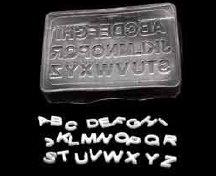 Alphabet Embeds Mold