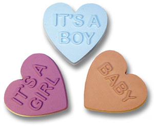 Baby Hearts Soap Mold 5 Cavity