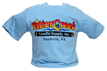 Blue Bitter Creek Candle Supply T-Shirt