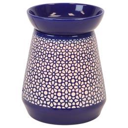 Wax Melt (tart) Warmer Blue Lamp