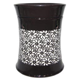 Wax Melt (tart) Warmer Brown Lamp