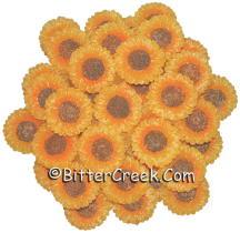 Sunflower Wax Embeds