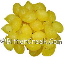 Whole Lemon Wax Embeds