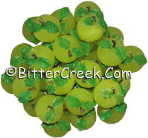 Whole Green Apples Wax Embeds