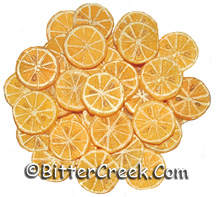 Orange Slices Wax Embeds