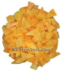 Candy Corn Wax Embeds