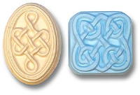 Celtic Knots Soap Mold 5 Cavity