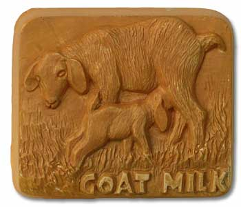 Goat Milk Soap Mold 3 Cavity