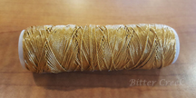 Gold Elastic Cord (36 yds) *NEW