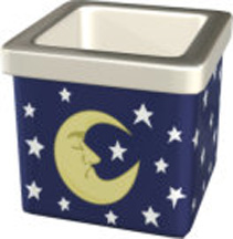 Moon & Stars Small Square Votive (Case of 72) *Clearance
