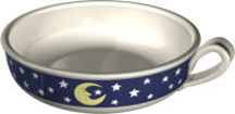 Moon & Stars Cake Candle Holder (Case of 36) *Clearance