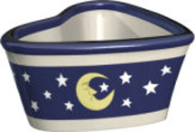 Moon & Stars Heart Bowl (Case of 36) *Clearance