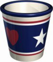 Americana Round Votive (Case of 72) *Clearance