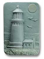 Light House Soap Mold 3 Cavity