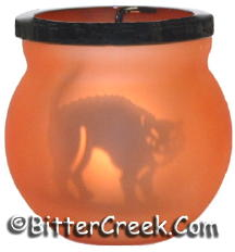 Cat Shadow Caster Tea Light Holder (Case of 6)