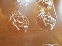 Open Rose Medium Embed/Tart Mold (9 Cavity)