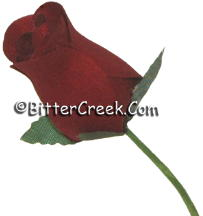 Romance Red Wood Roses