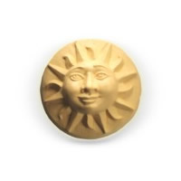 Sun Face Soap Mold 3 Cavity