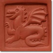 Dragon Soap Stamp