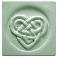 Celtic Heart Soap Stamp