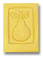 Pear Soap Stamp