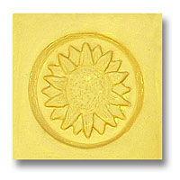 Sunflower Soap Stamp