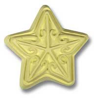 Star Soap Mold 3 Cavity