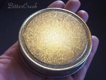 Silver Crystal Plain Jelly Lid