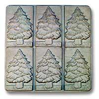 Fir Tree Tray Soap Mold