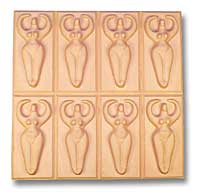 Goddess Soap Mold 8 Bar