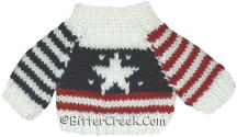 Patriotic w/Star Bear Sweater