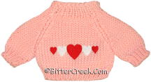 5 Hearts Bear Sweater