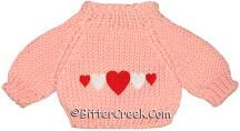 5 Hearts Bear Sweater