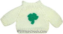 Shamrock Bear Sweater