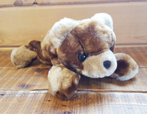 Brown Stuffed Bear for Dipping *Clearance