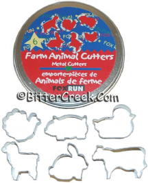 Farm Animal Chunk Cutters