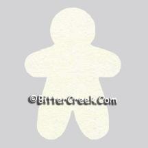 Gingerbread Man Air Freshener Blank