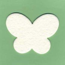 Butterfly Air Freshener Blank