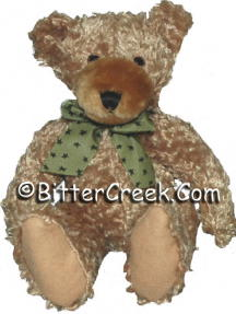 "7.5"" Brown Scruffie Teddy Bear"